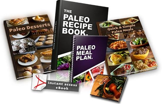 Paleo Recipe Book Sebastien Noel 88