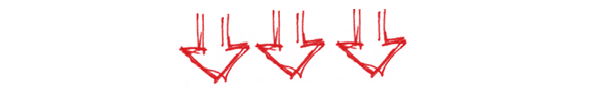 arrows below